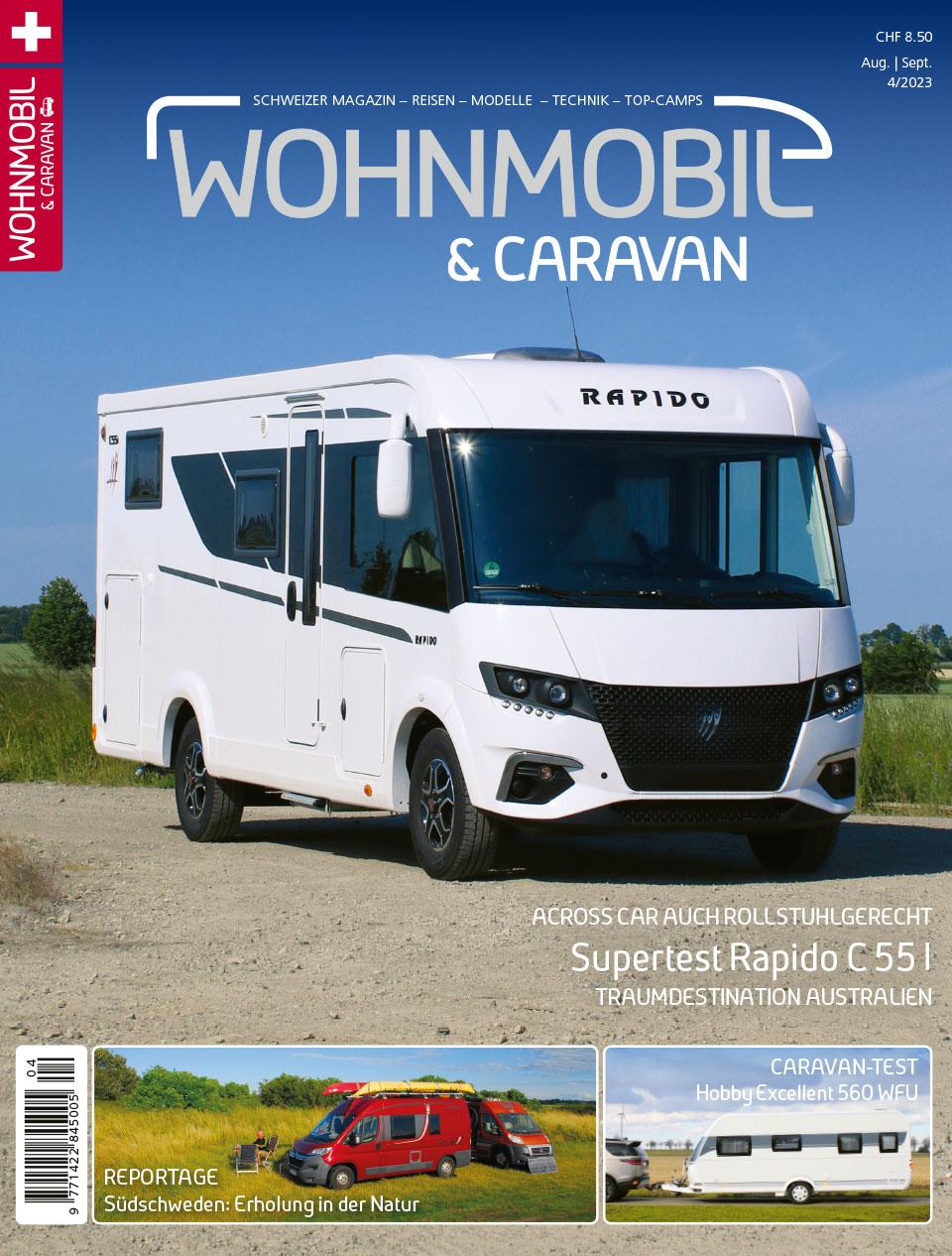 Wohnmobil und Caravan