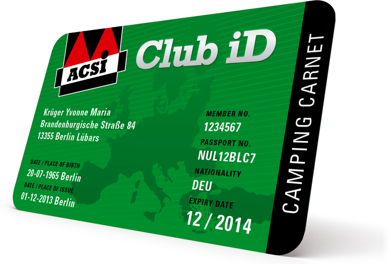 Carte ACSI Club iD