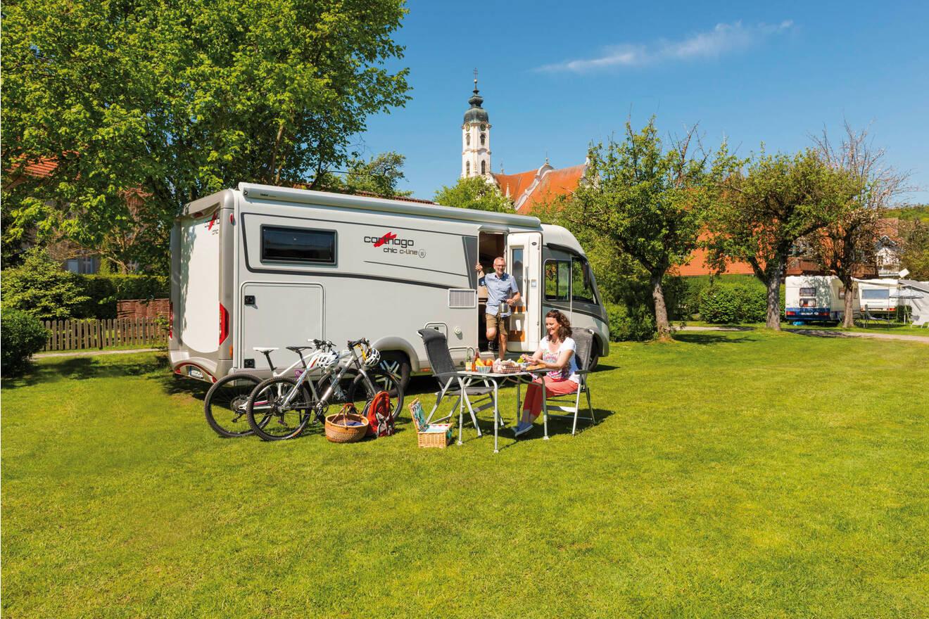 Wohnmobil-Paradies vor der Haustüre – Wohnmobil und Caravan