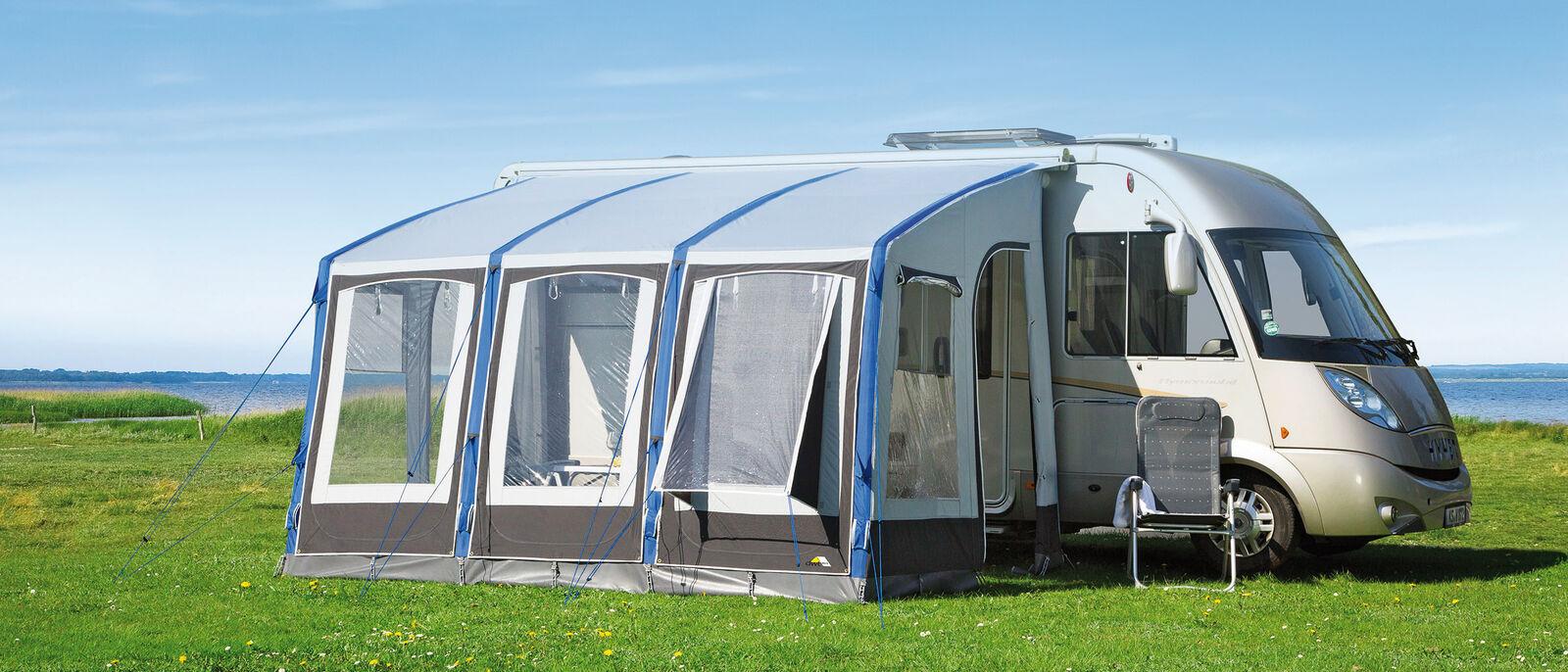 Luftzelt – Möglichkeiten und Grenzen – Wohnmobil und Caravan